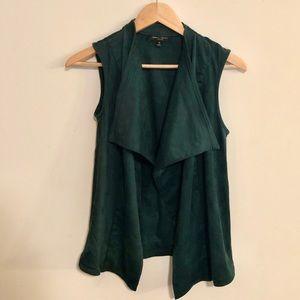 Romeo & Juliet Couture Vest Hunter Green - M
